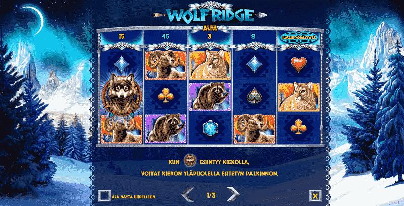 Wolf Ridge kolikkopeli