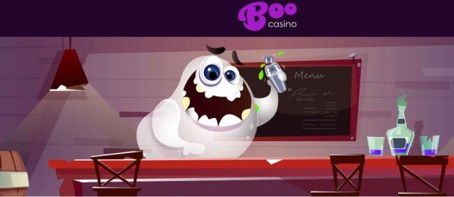Boo Casino aave kampanjasivulla