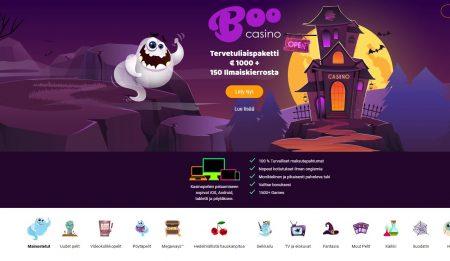 Boo Casino etusivu