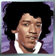 Jimi Hendrix wild symboli
