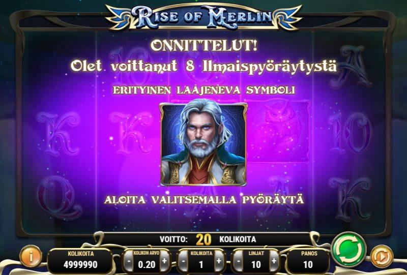 Rise of Merlin -ilmaiskierokset alkamassa
