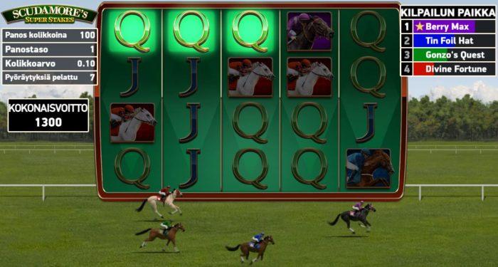 Scudamore's Super Stakes ilmaiskierrokset