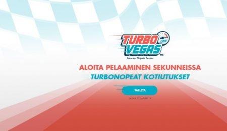 TurboVegas casino etusivu