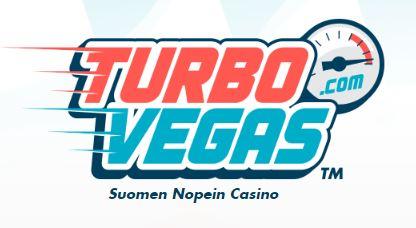 TurboVegas logo etusivulla