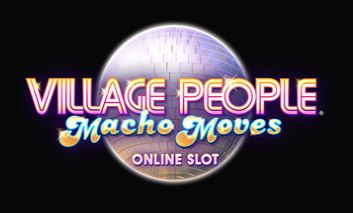 Village People Macho Moves -pelin logo