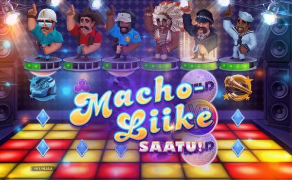Village people Macho Moves Macho liikkeet -bonustoiminto alkamassa