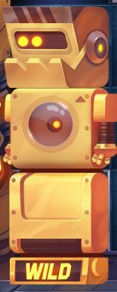 Wild Robo Factory Wild symboli