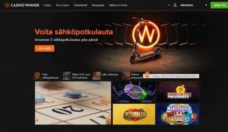 Casino Winner etusivu