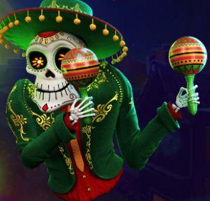 Esqueleto Mariachi luuranko