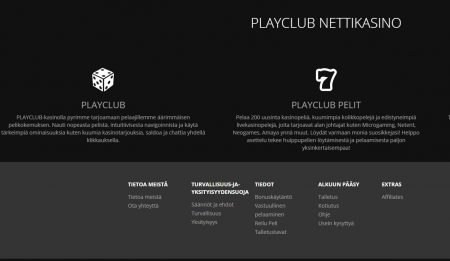 Play Club casino toiminta