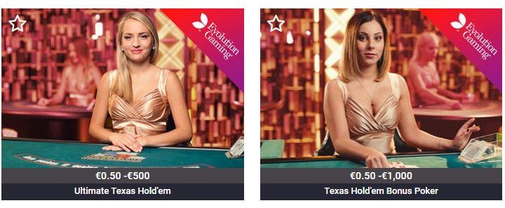 Texas Hold'em nettikasino