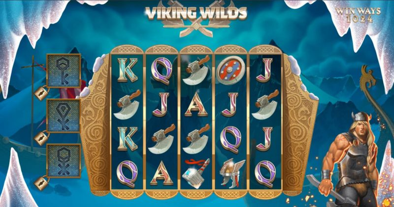 Viking Wilds kolikkopeli