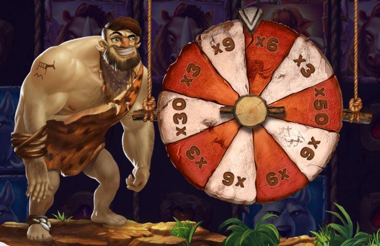 Caveman Bob bonuspyörä
