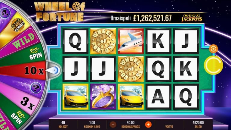 Mega Jackpots Wheel of Fortune On Air