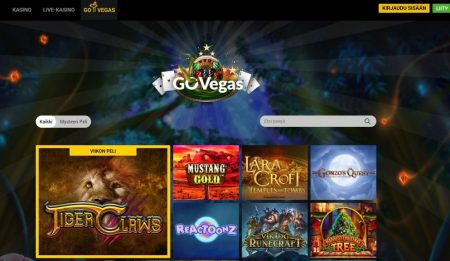 Go Wild Go Vegas pelit