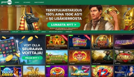 Greenplay casino etusivu