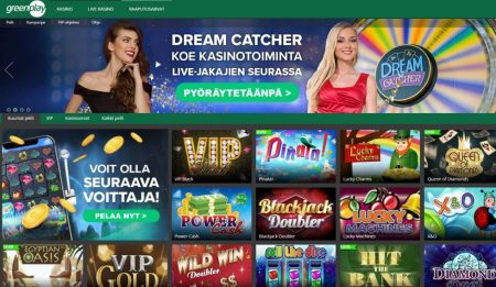 Greenplay casinon raaputusarvat