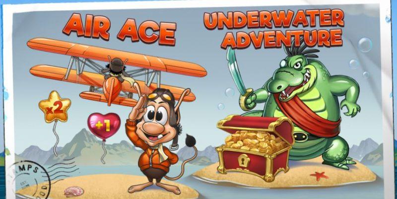 Hugo's adventure grafiikat