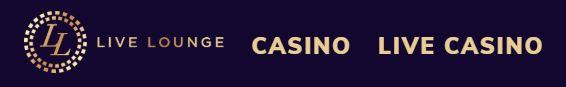 Live Lounge casino ulkoasu