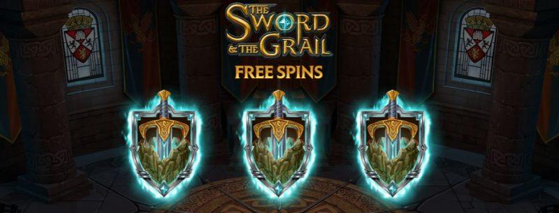 The Sword and the Grail ulkoasu