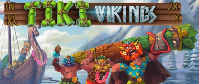 Tiki Vikings kolikkopeli Just For The Win