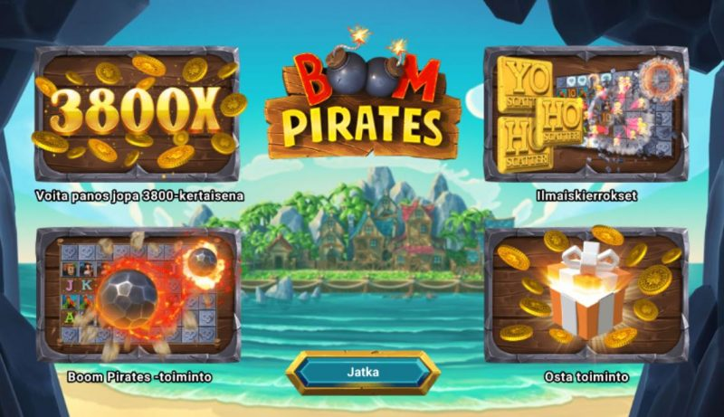 Boom Pirates toiminnot
