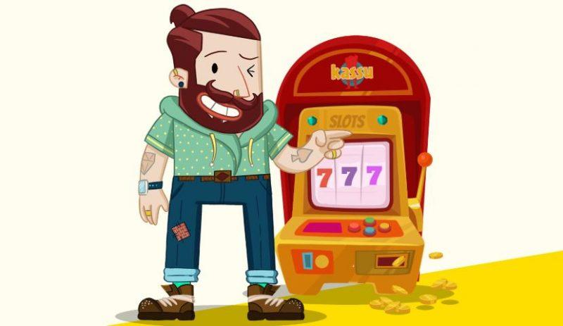 Kassu casinon ulkoasu on hauska ja moderni