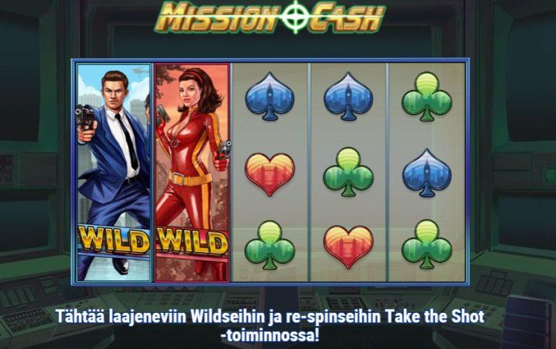 Mission Cash take the shot toiminto