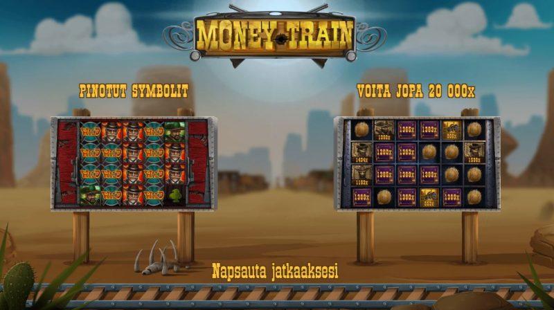 Money Train erikoistoiminnot