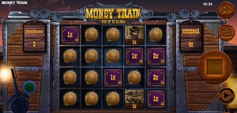 Money Train ilmaiskierrokset