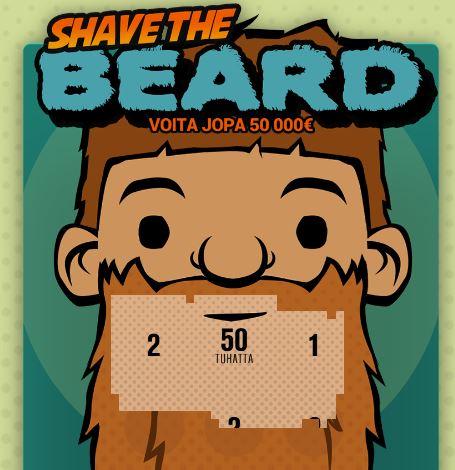 Raaputusarpa Shave the Beard