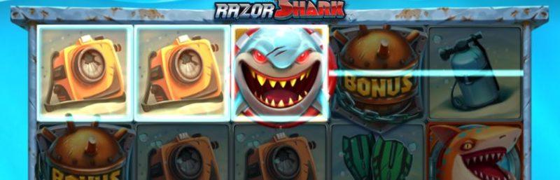 Razor Shark voittoyhdistelmä