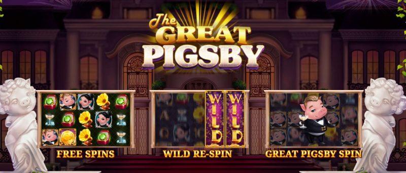 The Great Pigsby erikoistoiminnot