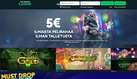The Online Casino etusivu