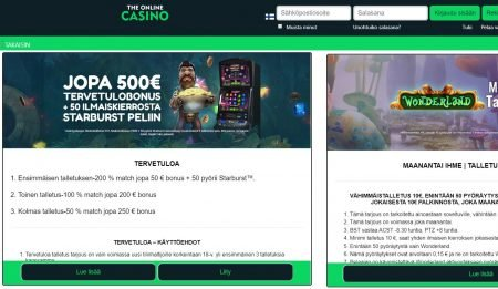 The Online Casino kampanjat
