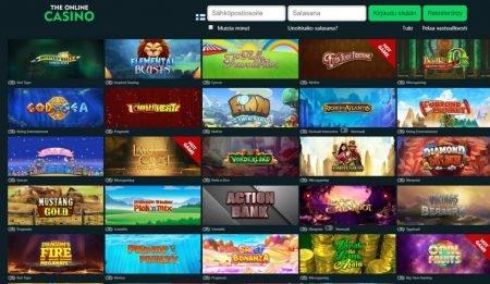 The Online Casino pelit