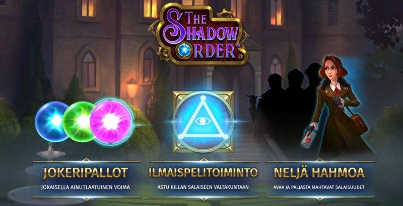 The Shadow order erikoistoiminnot