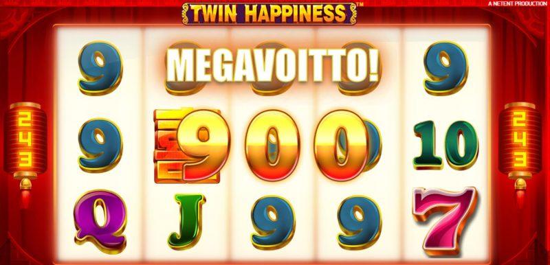 Twin Happy megavoitto