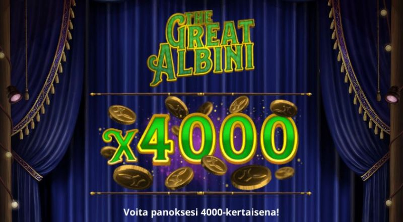 The Great Albini aloitus