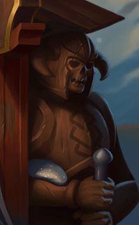 Age of asgard kolikkopelin ulkoasu on tummanpuhuva