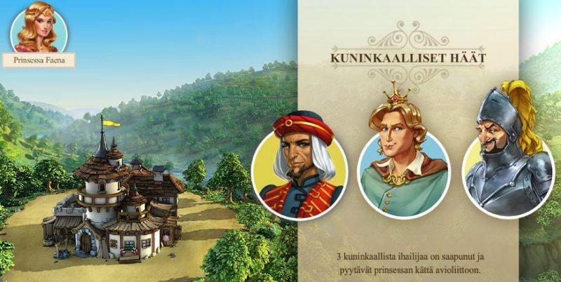 Castle Builder kuninkaalliset häät