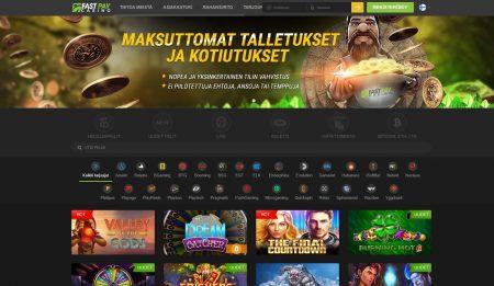 Fastpay casino etusivu