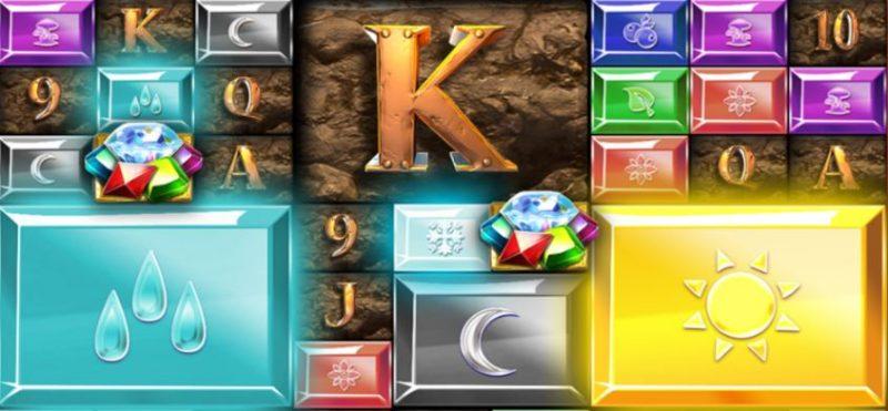 Gemmed kolikkopeli jättisymbolit