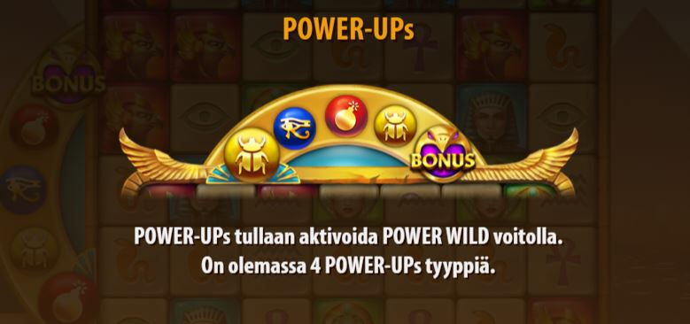 Golden Glyph power ups
