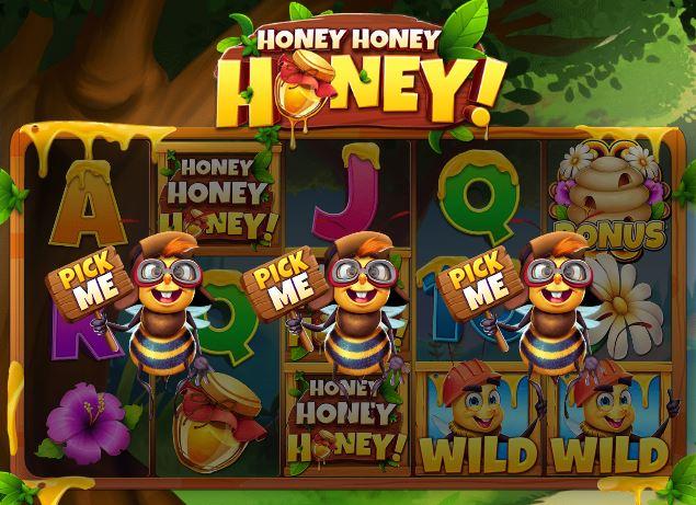 Honey Honey Honey bonustoiminto