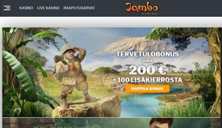 Jambo Casino etusivu