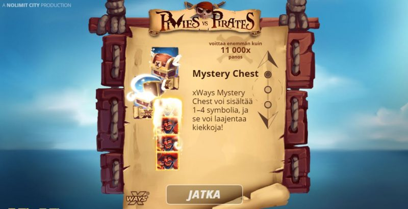 Pixies vs Pirates mysteeriarkku