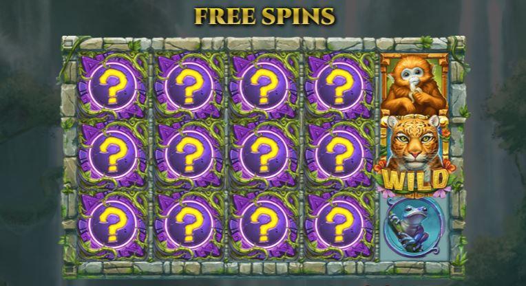 Rainforest magic free spins