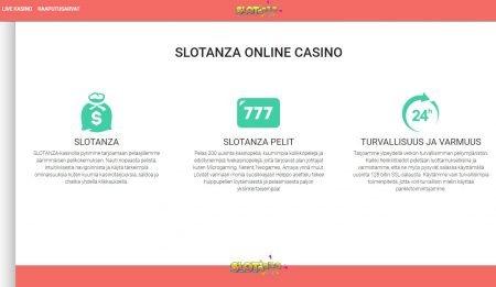 Slotanza casino tietoa