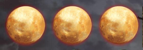 The Wolf's bane täysikuu scatter